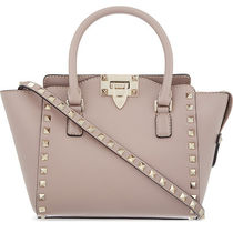 VALENTINO 2WAY Plain Leather Totes