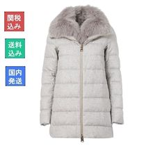 HERNO Cashmere Blended Fabrics Down Jackets