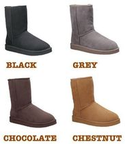 UGG Australia CLASSIC SHORT Casual Style Fur Street Style Boots Boots