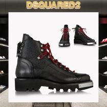 D SQUARED2 Mountain Boots Plain Outdoor Boots