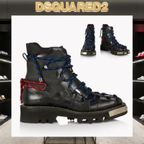 D SQUARED2 Mountain Boots Faux Fur Outdoor Boots
