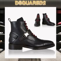D SQUARED2 Mountain Boots Leather Outdoor Boots