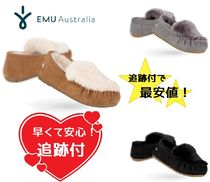 EMU Australia Moccasin Sheepskin Plain Slip-On Shoes