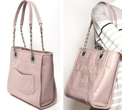 CHANEL Totes Leather Totes 3