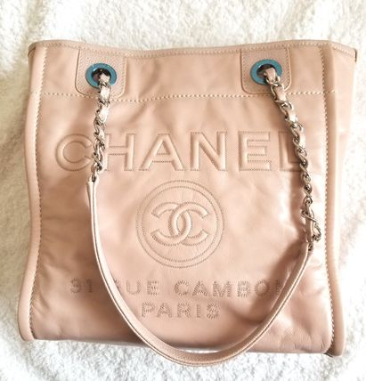 CHANEL Totes Leather Totes 5
