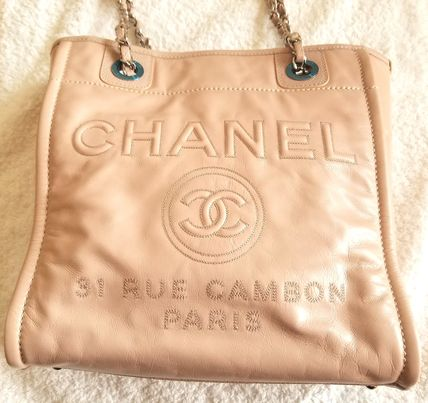 CHANEL Totes Leather Totes 6