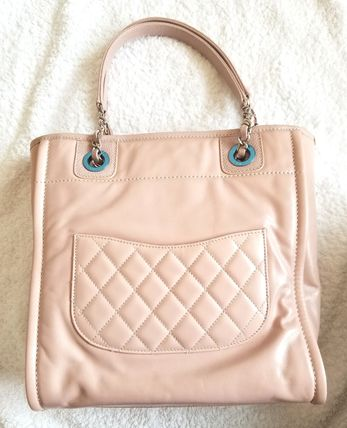 CHANEL Totes Leather Totes 7