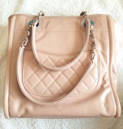 CHANEL Totes Leather Totes 8
