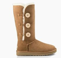 UGG Australia BAILEY BUTTON TRIPLET Casual Style Fur Boots Boots