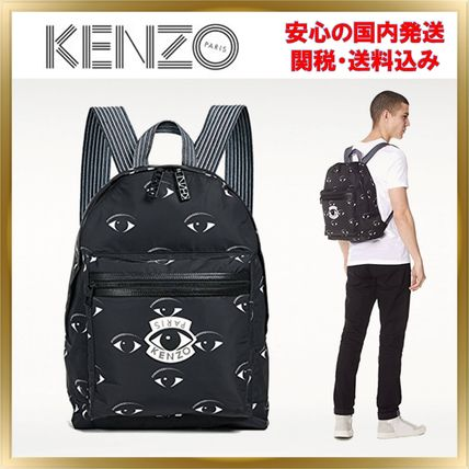 Casual Style Unisex 2WAY Backpacks