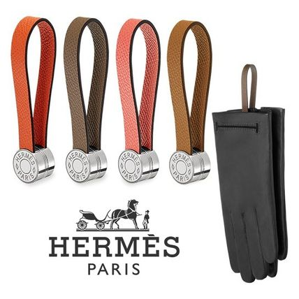 HERMES Leather & Faux Leather Leather Leather & Faux Leather Gloves