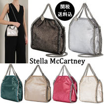 Stella McCartney FALABELLA 2WAY Chain Plain Elegant Style Shoulder Bags