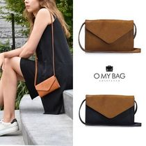 O MY BAG Casual Style Leather Handmade Shoulder Bags
