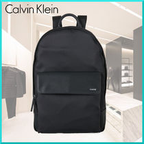 Calvin Klein Plain Backpacks