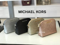 Michael Kors Leather Pouches & Cosmetic Bags