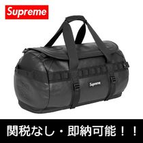 Supreme Street Style Collaboration 2WAY Plain Leather Backpacks