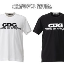 COMME des GARCONS Unisex Street Style Short Sleeves T-Shirts