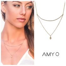 AMY O Costume Jewelry Casual Style 14K Gold Necklaces & Pendants
