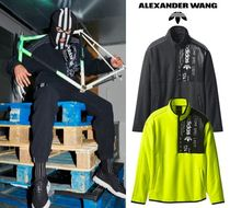 Alexander Wang Unisex Street Style Collaboration Long Sleeves Plain