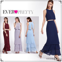 Ever-Pretty Maxi Sleeveless Plain Long Home Party Ideas Dresses