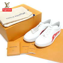 Louis Vuitton Monogram Street Style Collaboration Leather Sneakers