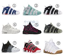 Nike AIR MORE UPTEMPO Casual Style Street Style Low-Top Sneakers