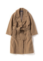 FRED PERRY Wool Street Style Plain Long Chester Coats