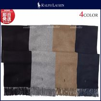 Ralph Lauren Wool Plain Scarves