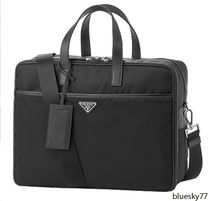 PRADA PRADA  Nylon 2WAY Plain Business bag & Briefcases Unisex