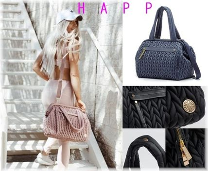 Casual Style A4 3WAY Plain Handbags