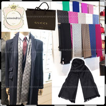 GUCCI Monogram Silk Scarves
