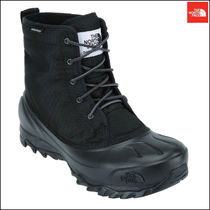 THE NORTH FACE Argile Plain Toe Mountain Boots Street Style Plain Leather
