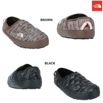 THE NORTH FACE Argile Platform Round Toe Casual Style Faux Fur Street Style