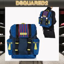 D SQUARED2 Leather Backpacks
