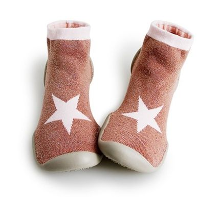 Star Round Toe Unisex Slippers Flats