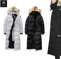 CANADA GOOSE MYSTIQUE Long Down Jackets