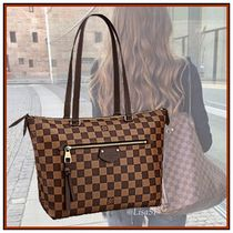 Louis Vuitton DAMIER Other Check Patterns Canvas Tassel A4 2WAY Bi-color