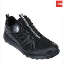 THE NORTH FACE Argile Mountain Boots Street Style Plain Leather Sneakers