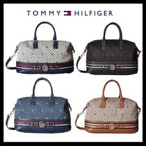 Tommy Hilfiger Other Check Patterns Casual Style Cambus 2WAY Plain