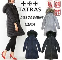 TATRAS Wool Plain Medium Office Style Down Jackets