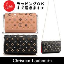 Christian Louboutin Paloma Studded Clutches