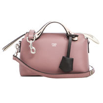 FENDI By The Way Mini Shoulder Boston Bag / English Rose (Mauve)