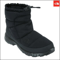THE NORTH FACE Argile Plain Toe Mountain Boots Faux Fur Street Style Plain