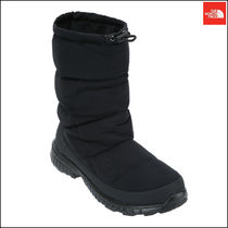 THE NORTH FACE Argile Mountain Boots Faux Fur Street Style Plain