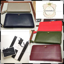 Anya Hindmarch Plain Long Wallets