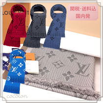 Louis Vuitton [2017-18AW] MONOGARAM LOGOMANIA WOOL WARM NECK SCARVES