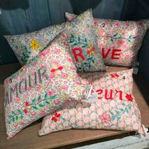 Bonpoint Flower Patterns Decorative Pillows