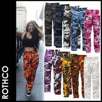 ROTHCO Camouflage Street Style Cotton Cargo Pants