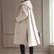 Casual Style Wool Street Style Plain Medium Chester Coats