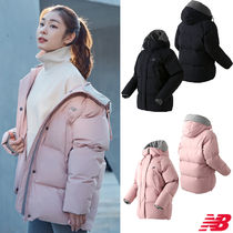 New Balance Short Casual Style Plain Down Jackets